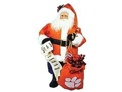 Santa Claus w/bag - Clemson