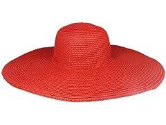 Straw Hat, Red