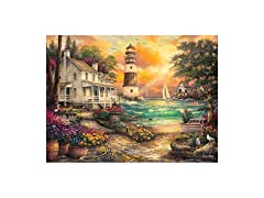 Cottage By The Sea Jigsaw Puzzle