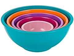 Colorways 5-Piece Nested Bowl Set-Azure