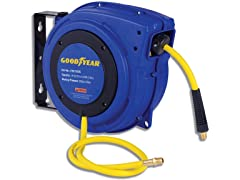 "Goodyear 1/4"" x 50' Hybrid Air Hose Reel"
