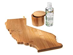 Totally Bamboo 3-Pc California Board Set