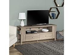 "60"" Wood Storage TV Stand"