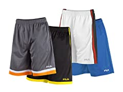 Fila Men's Athletic Shorts - 4 Styles