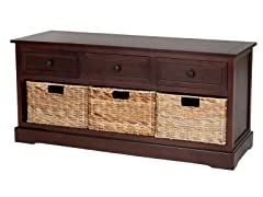 Damien 3 Drawer Storage.-  Cherry