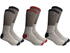 Insulated Thermal Cotton Crew Socks
