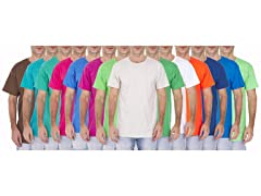 Fruit of the Loom Men's Crew Neck T-Shirts, Assorted, 10-Pack