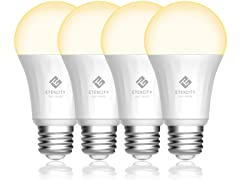Smart Light Bulb, Works with Alexa (4-Pack)