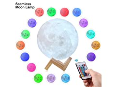 Seamless 3D Moon Lamp (Your Choice)