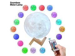 Seamless 3D Moon Lamp (Your Choice)