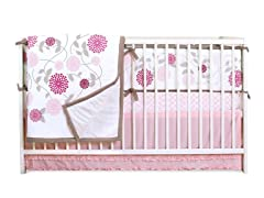 JJ Cole Crib Bedding Set - Primrose