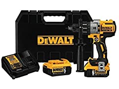 DeWALT Brushless 3-Speed Hammer Drill Kit