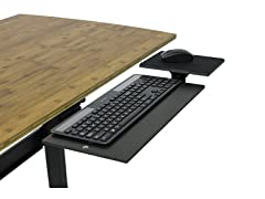 Uncaged Ergonomics Adjustable Keyboard Tray