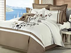 Toronto 8Pc Set-Beige-2 Sizes