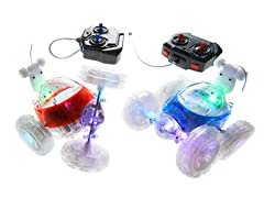 Mindscope R/C Turbo Twisters Stunt Car 2-Pack