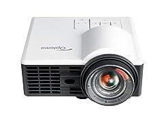 Optoma ML1050ST+ Portable LED WXGA Mini Projector