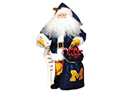 Santa Claus w/bag- Michigan