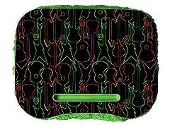 Fuzzy Lapdesk - Guitar Neon