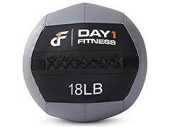 Day 1 Fitness Wall Medicine Ball 18lb
