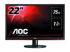 "AOC G2260VWQ6 21.5"" FHD Gaming Monitor"