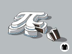 Cake or Pi? Long-Sleeve Tee
