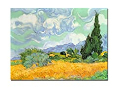 VanGogh Wheatfield w/Cypresses (2 Sizes)