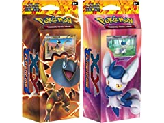 BOTH DECKS - Pokemon 2014 Nintendo TCG Card Game XY2