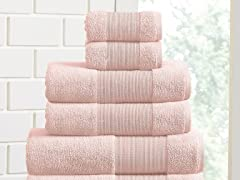 Air Cloud 100% Cotton 6-Piece Towel Set