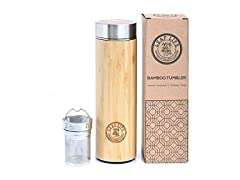 Original Bamboo Tumbler with Tea Infuser