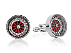 SD Man Roulette Cufflinks