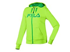 Fila Performance Hoody - Green/Toucan
