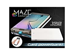 Maze Portable Power Bank Battery Charger