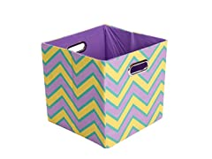Sweets Canvas Folding Storage Bin