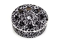 Savvy Tabby® Wild time Disc Teasers Cat Toy-Black/White