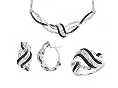 Black & White Diamond Set