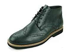 Men's Geneva Wing Tip Boots - 10