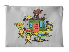 Teenage Peanut Ninja Turtles Accessory Pouch