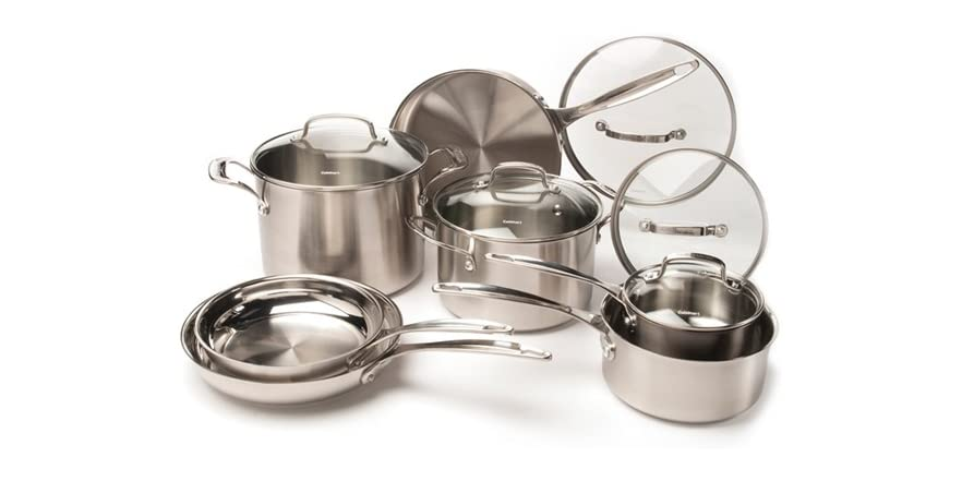Cuisinart 12-Piece SS Cookware Set