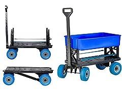 Mighty Max Cart  Adjustable Length Utility Wagon