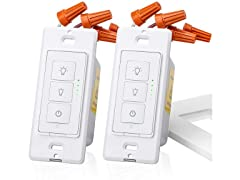 meross Smart Dimmer Switch (2-Pack)