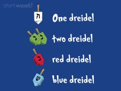 Hanukkah One Dreidel Two Dreidel