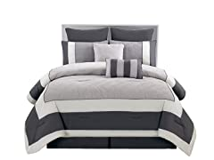 Spain 8Pc Bedding Set