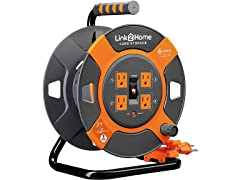 Link2Home 3' Extension Cord Storage Reel