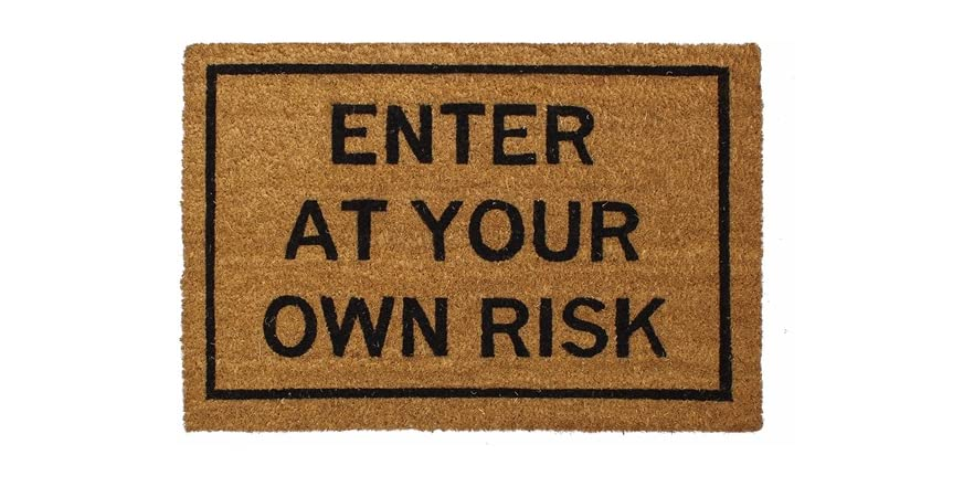 Clever doormats enter at your own risk - Clever doormats ...