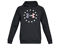 UA Mens Freedom Rival Fleece Logo Hoodie