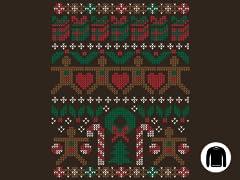 Ugly Holiday Sweater 2011 Crewneck Sweatshirt