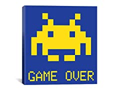 Game Over 18x18 Thin