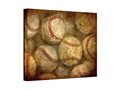 Baseballs Wrapped Canvas (3 Sizes)