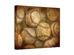 Baseballs Wrapped Canvas (3 Sizes)