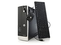 HP Intel Dual-Core Slimline Desktop